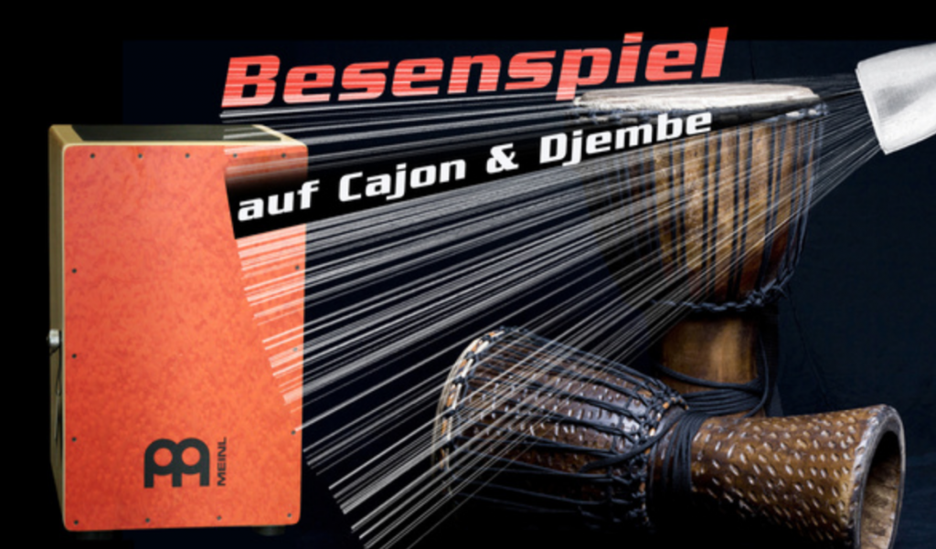 Percussion Workshop auf Bonedo – 5 – Brushes on Cajon and Djembe