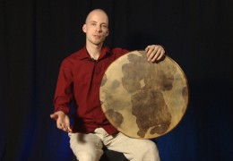 Frame Drum Basic Lesson (Lapstyle)