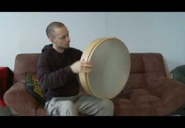 Frame Drum Video Podcast – Tuning Frame Drums