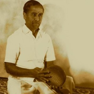 Trichy Sankaran playing the kanjira